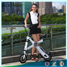 Light Weight Foldable Electric Bicycle with Seat , Electric Bike Kit Lithium Battery