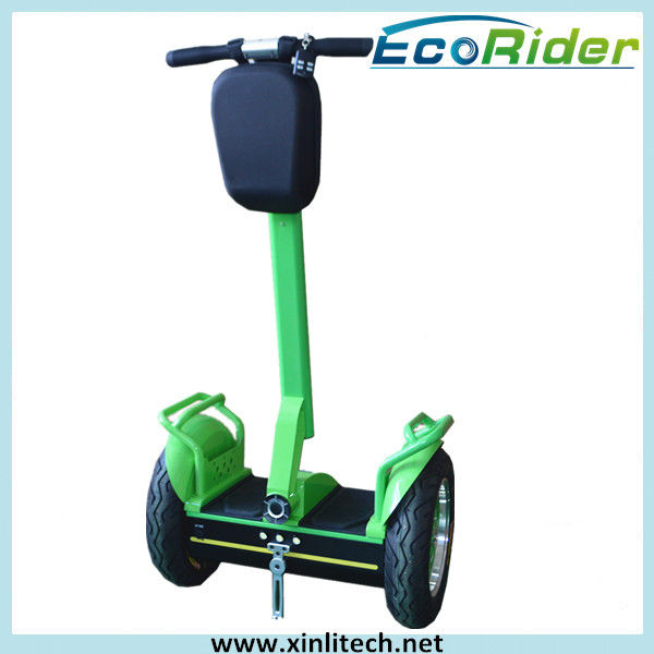 Green Balance Electric Scooter Segway Human Transporter / Power Electric Drifting Scooter Two Wheel