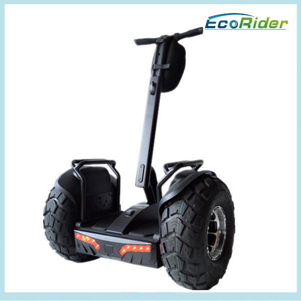 Black Lithium Battery Electric Scooter Self Balancing Free Standing ESOII Model