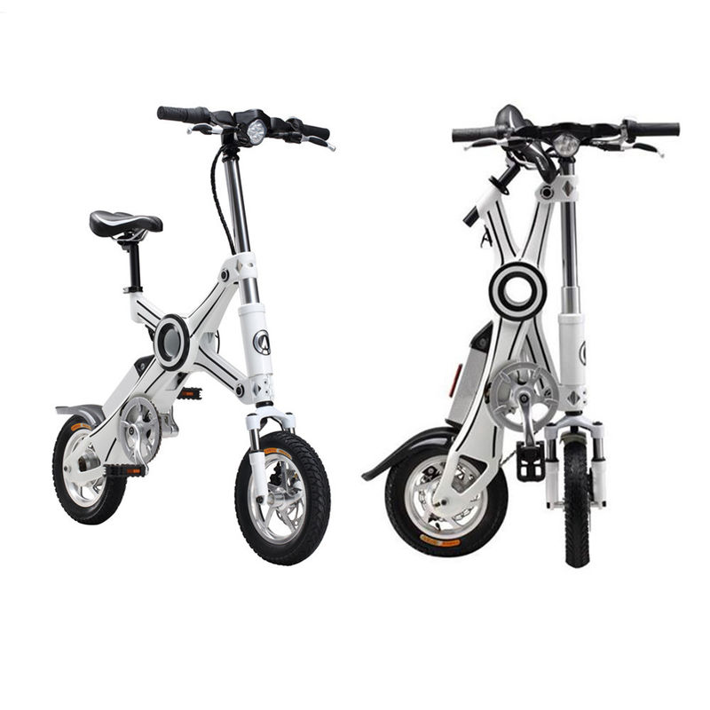 12 Inch Foldable Electric Scooter Brushless Motor Lightweight Folding Bike
