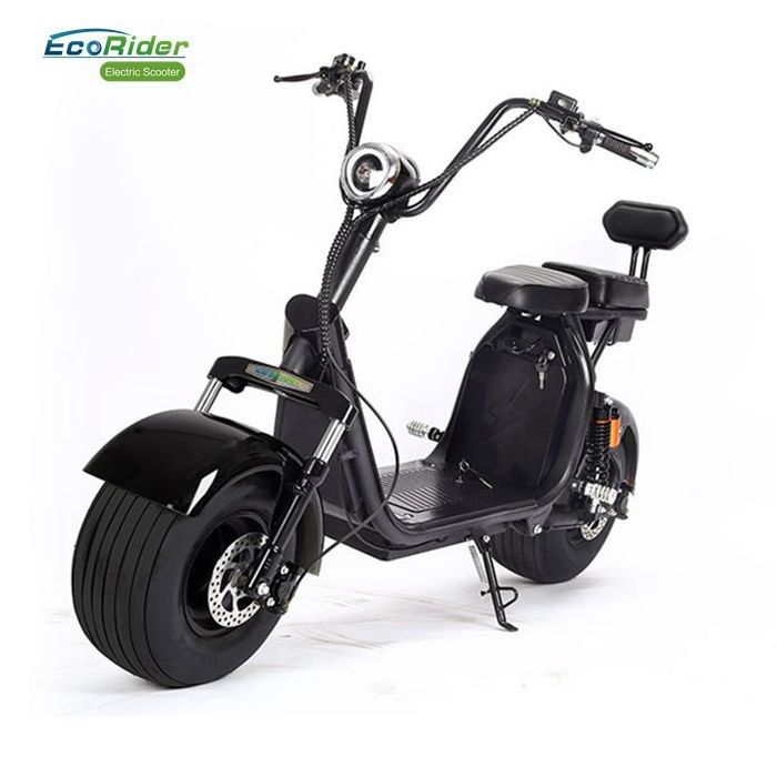 60 Volt 12ah Two Wheel Off Road Electric Motor Scooter With Removable Battery