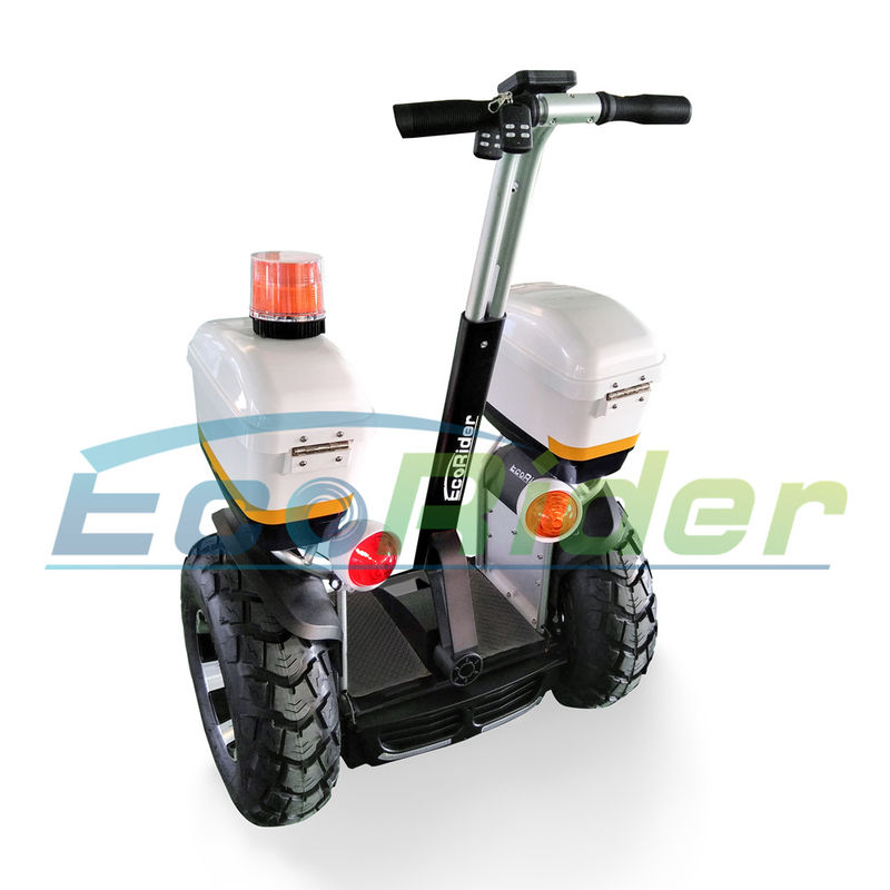 High Speed Segway Electric Scooter EcoRider Patrol Model Double Battery 1266Wh 72V