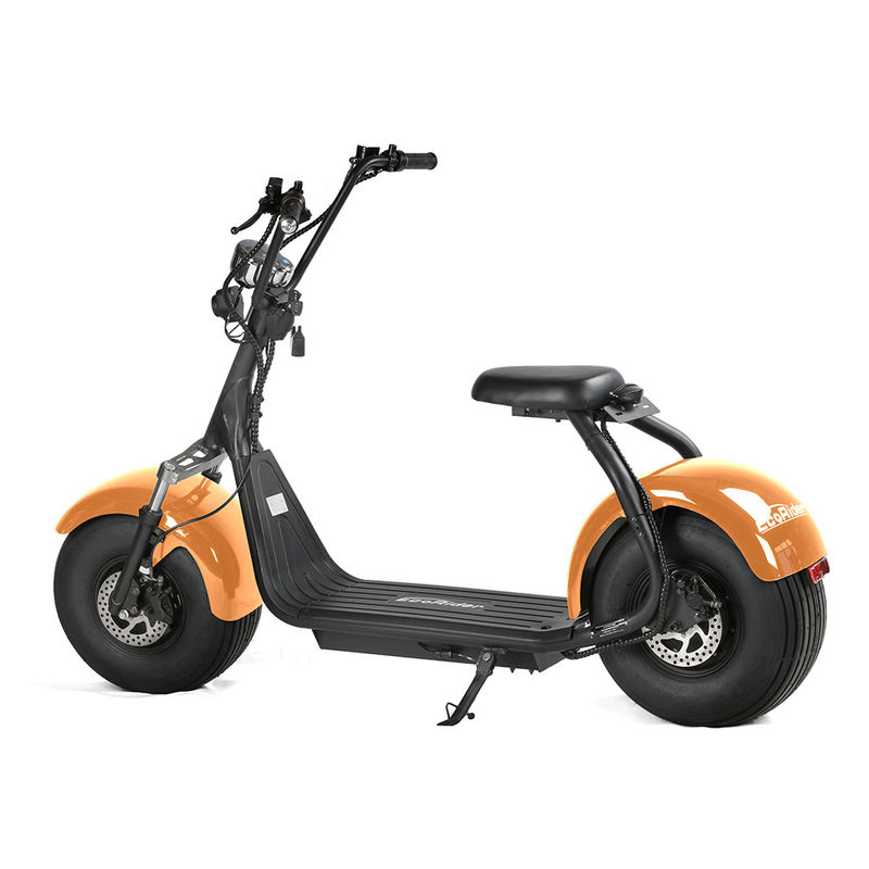 1200w Brushless Lithium Battery Electric Scooter 60V / 12Ah LG For Adults
