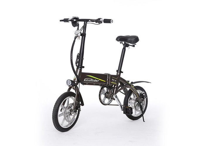 Aluminium Alloy 2 Wheel Electric Bike Two Wheel Electric Bike Max Speed 25 Km/h
