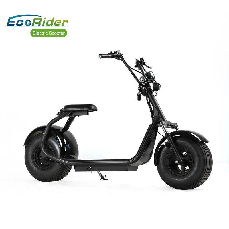 No Foldable 2 Wheeled Motorized Scooter 60V 12AH / 20AH Lithium Battery