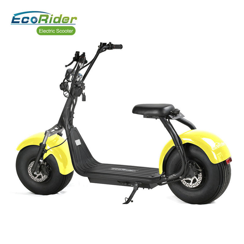 EEC/COC 2 Wheel Electric Scooter 70 Km Range 20 Degree Climb Capability