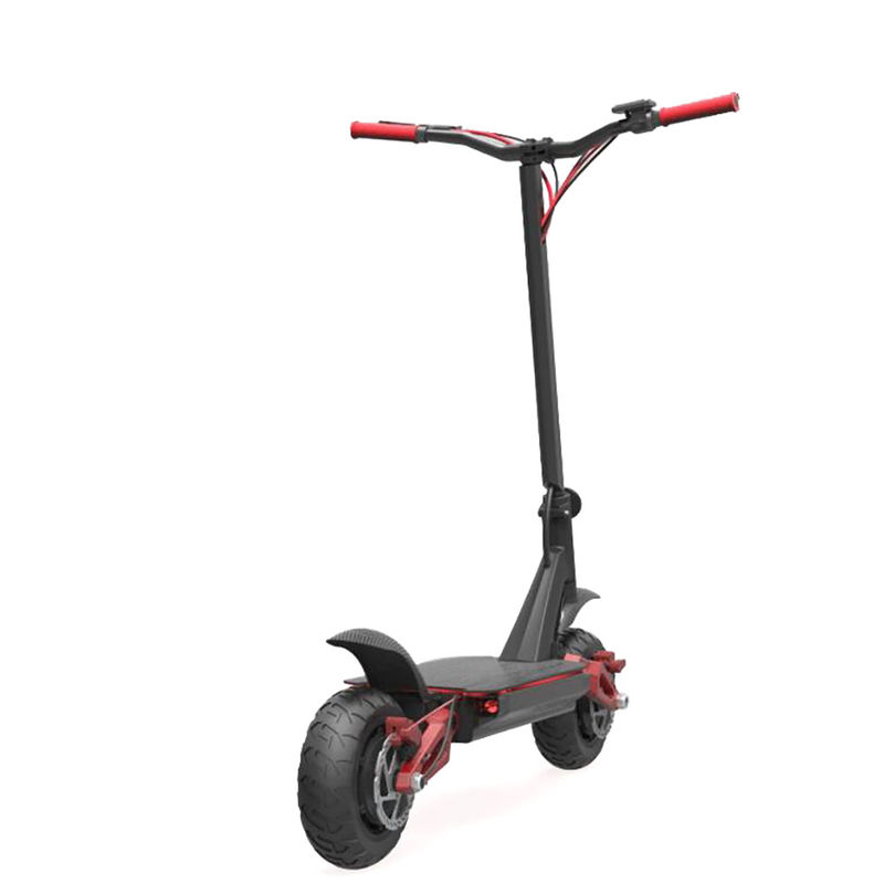2 wheel electric foldable scooter 2000w 52v 20.8ah lithium battery with LCD smart display